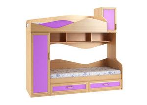 Двухъярусная кровать №77