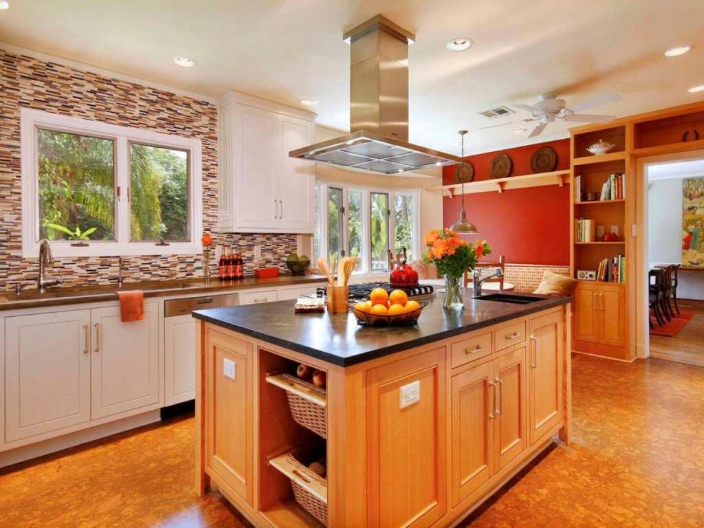 Цвет кухни по фен шуй правила фото
