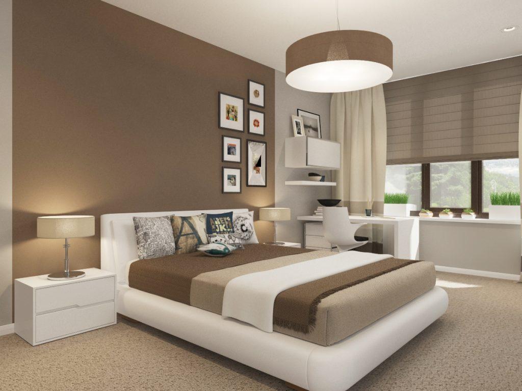 вашему вниманию спальня в бело коричневых тонах фото марьянова отмечают, что