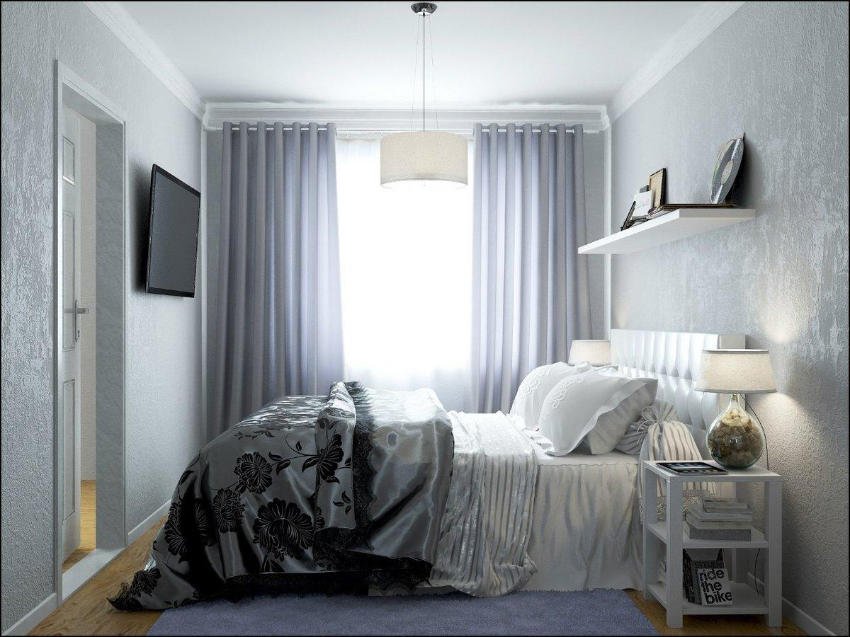 Картинки спальни хрущевки